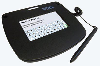Topaz electronic pad