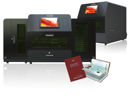 Smart laser engraver ePassport